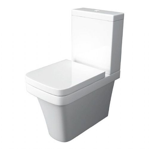 Kartell Sicily Back To Wall Close Coupled Toilet - Cistern Soft Close Seat
